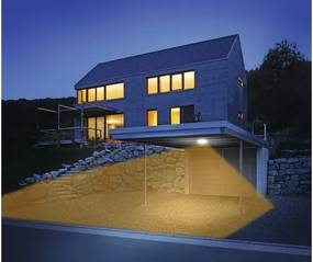 Plafoniera cu LED integrat Steinel DL Vario Quattro 10W 1000 lumeni, senzor de miscare, pentru exterior IP54, antracit