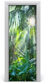 Autocolante pentru usi uşă Jungle
