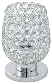 Eglo 94899 - Cristal Lampa de masa BONARES 1 1xE27/60W/230V
