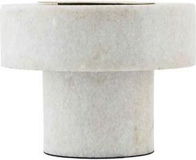Lampa de masa Pin , White Marble