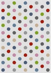 Covor Universal Norge White Dots, 57 x 110 cm