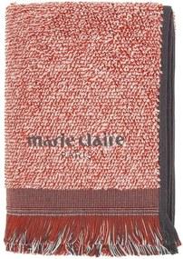 Set 2 prosoape Marie Claire Colza, 40 x 60 cm, roșu