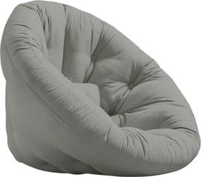 Fotoliu extensibil Karup Design Nest Grey