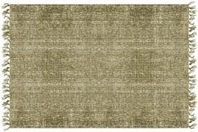Covor PT LIVING Washed Cotton, 140 x 200 cm, verde