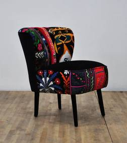 50's Clubchair - Black Love