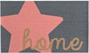 Preș Zala Living Design Star Home Grey Pink, 50 x 70 cm, gri roz