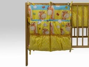 Buzunar Patut MyKids Happy Giraffe Galben