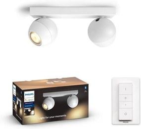 Philips 50472/31/P6 - LED Lampă spot dimmabilă Hue BUCKRAM 2xGU10/5W/230V