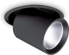 Downlight Incastrat Ideal Lux Nova 30W 4000K Bk Led, Negru, 267944, Italia