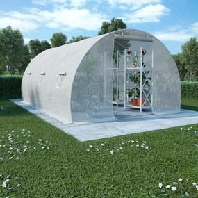 Seră cu fundație din oțel, 13,5 m², 450 x 300 x 200 cm