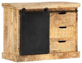 286409 vidaXL Servantă, 80 x 30 x 60 cm, lemn masiv de mango