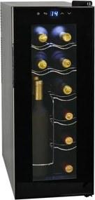 Frigider bar răcitor de vin, 35 L, 12 sticle, afișaj LCD