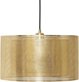 Candelabru Pendant din Metal Auriu - Metal Auriu Diametru(40cm) x Inaltime(23cm) x Lungime(150cm)