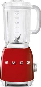 50's Retro Style blender 1,5l recipient din plastic roșu - SMEG