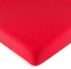 Cearşaf 4Home jersey, roşu, 160 x 200 cm, 160 x 200 cm