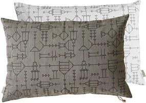 Perna din Bumbac CAVE - Bumbac Gri Lungime(60 cm) x latime(40 cm)