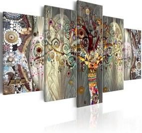 Tablou pe pânză din mai multe piese Artgeist Tree of Life, 100 x 150 cm