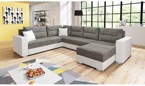 Expedo Set canapea în formă de U WHALE, 314x90x217, berlin 01/madryt 120