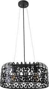 Rábalux Alessandra 2157 Pendule moderne negru mat negru E27 2x MAX 60W