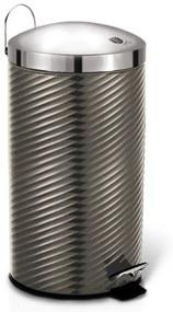 Cos de gunoi cu pedala din otel inoxidabil 7L Carbon Metallic Collection Berlinger Haus BH 6426