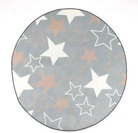 Covor camera copii STARS rotund 160 CM