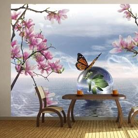 Fototapet Bimago - In a soap bubble + Adeziv gratuit 350x245 cm