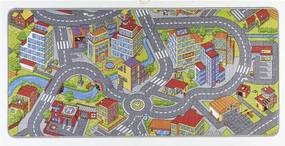 Covor Hanse Home Play Cars, 160 x 240 cm