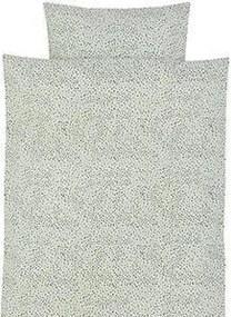 Lenjerie de Pat cu Stropi pentru Copii - Bumbac Mint Junior-lungime(100cm) x latime(70cm); lungime(46cm) x latime(40cm)