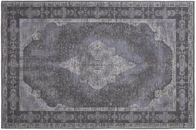 Covor din bumbac Ustica Dash Grey (160 x 230 | 200 x 290) | DE DIMORA - 160x230
