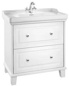 Set PROMO mobilier Roca Carmen cu lavoar alb A851369415