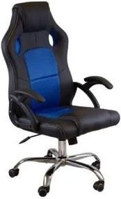 Scaun gaming SIG0071-2 Albastru deschis