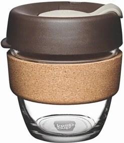 Cană de voiaj cu capac KeepCup Brew Cork Edition Almond, 227 ml