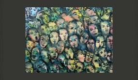 Fototapet Bimago - Berlín wall art + Adeziv gratuit 200x154 cm