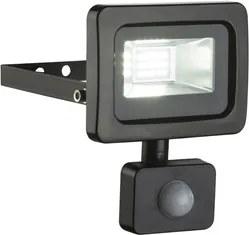 Aplica cu senzor LED 10W negru Callaqui Globo Lighting 34003S