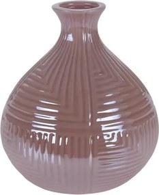 Vază Loarre roz, 12,5 x 14,5 cm