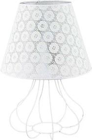 Lampă de masă SYMPHONY 1xE27/40W/230V 490 mm alb
