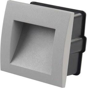 Iluminat de orientare LED incastrabil LED/1W teplá bílá IP65