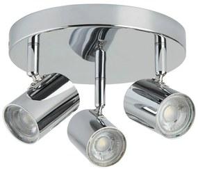 Searchlight 3173CC - Spot LED ROLLO 3xLED/4W/230V crom
