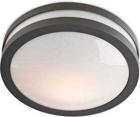 Aplică/Plafonieră iluminat exterior Redo SONAR, 42W, gri