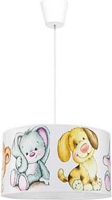 Lustră copii pe cablu SWEET BEARS 1xE27/40W/230V