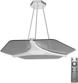 Dalen DL-2S Plus D Silver - LED Lustră pe cablu POLLY 1xLED/56W/230V