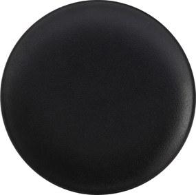 Farfurie 27,5 cm, culoare neagră - ediție Caviar - Maxwell & Williams
