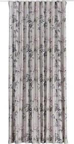 Draperie cu rejansa Samba imprimeu floral 400x245 cm