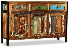 243984 vidaXL Bufet din lemn masiv reciclat, 120x35x76 cm