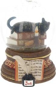 Glob de zapada cu pisica Ora Vrajitoarelor Lisa Parker