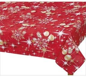 Față de masă de Crăciun Bellatex, glob auriu, 70 x 70 cm, 70 x 70 cm