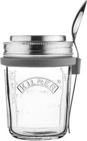 Set din sticlă pentru micul dejun Kilner