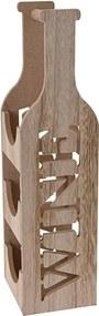 Suport din lemn pentru vin 14x12x46 cm