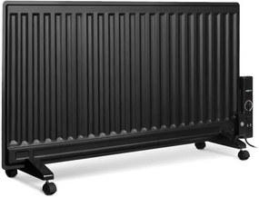 OneConcept WALLANDER, radiator pe ulei, 1000 W, termostat, încălzire pe ulei, ultra subțire, negru