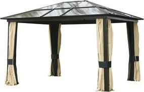 Outsunny Pavilion de Lux din Aluminiu Cort pentru Gradina 300x360x265cm